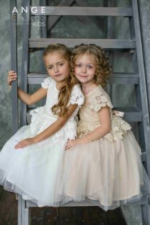 Cute bridesmaid dresses for little girls ideas 7